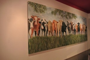 Popeseye Cows Painting